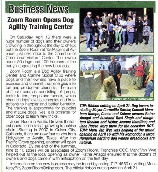 Pacific Grove Bulletin