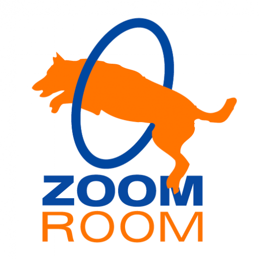 ZOOM ROOM LOGO DOG