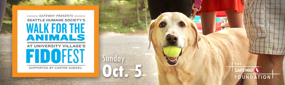 Seattle Humane Society – Walk with the Animals