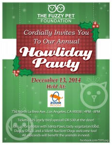 The Fuzzy Pet Foundation Howliday Pawty
