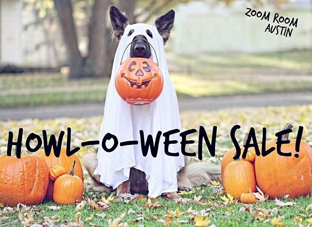 You still have a few hours left to take advantage of our Howl-O-Ween sale! Don't miss out on these scary good deals! Use promo code HOWL20 a