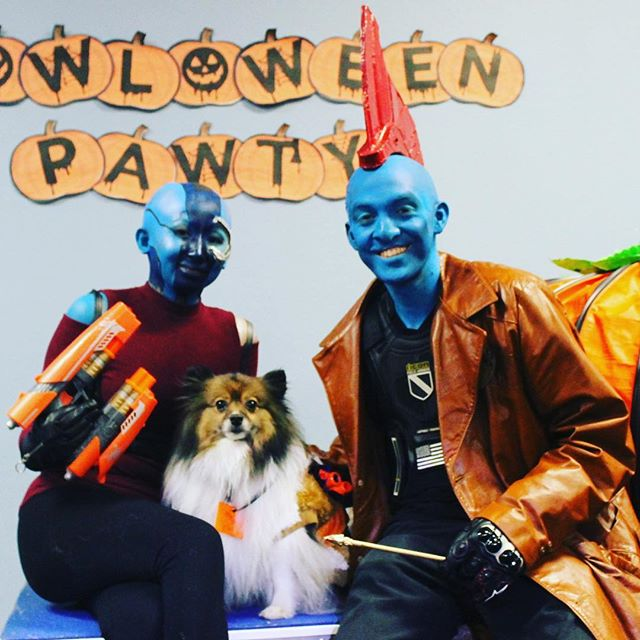 Best Overall Costume:  Team Bon Bon 'Guardians of the Galaxy'!