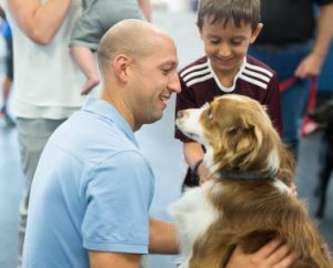 Reuniting Military Families with their Dogs